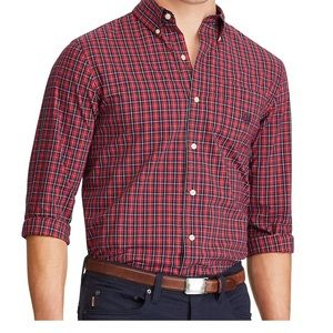 Men's Chaps Long Sleeve Button Down Shirt